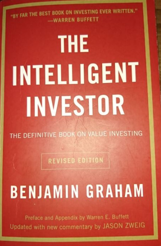 The Intelligent Investor is the main book I read on my stock market journey. It helped me a lot to decide my strategy for investing in stocks.