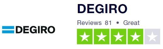 DEGIRO has very good reviews on UK Trustpilot